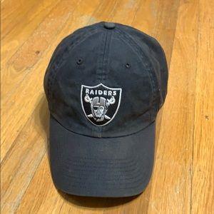 47 brand NFL Oakland Raiders dads black hat